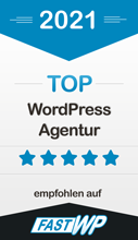Top WordPress Agentur auf fastwp.de